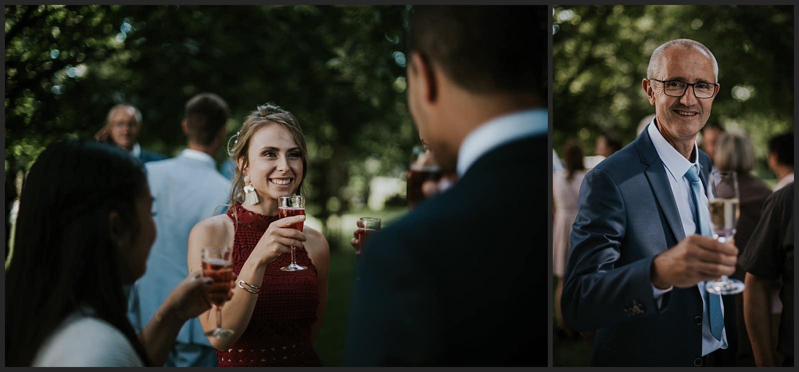 photo invités vin d'honneur