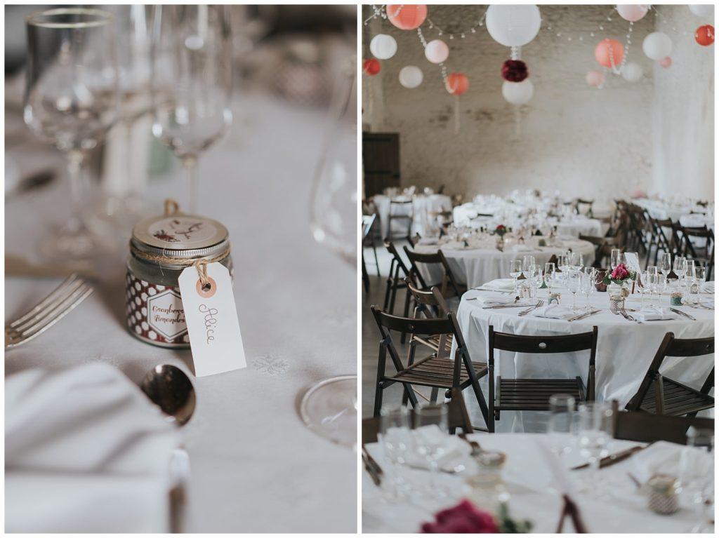 décoration de mariage au chateau de losmonerie photographe vivien malagnat