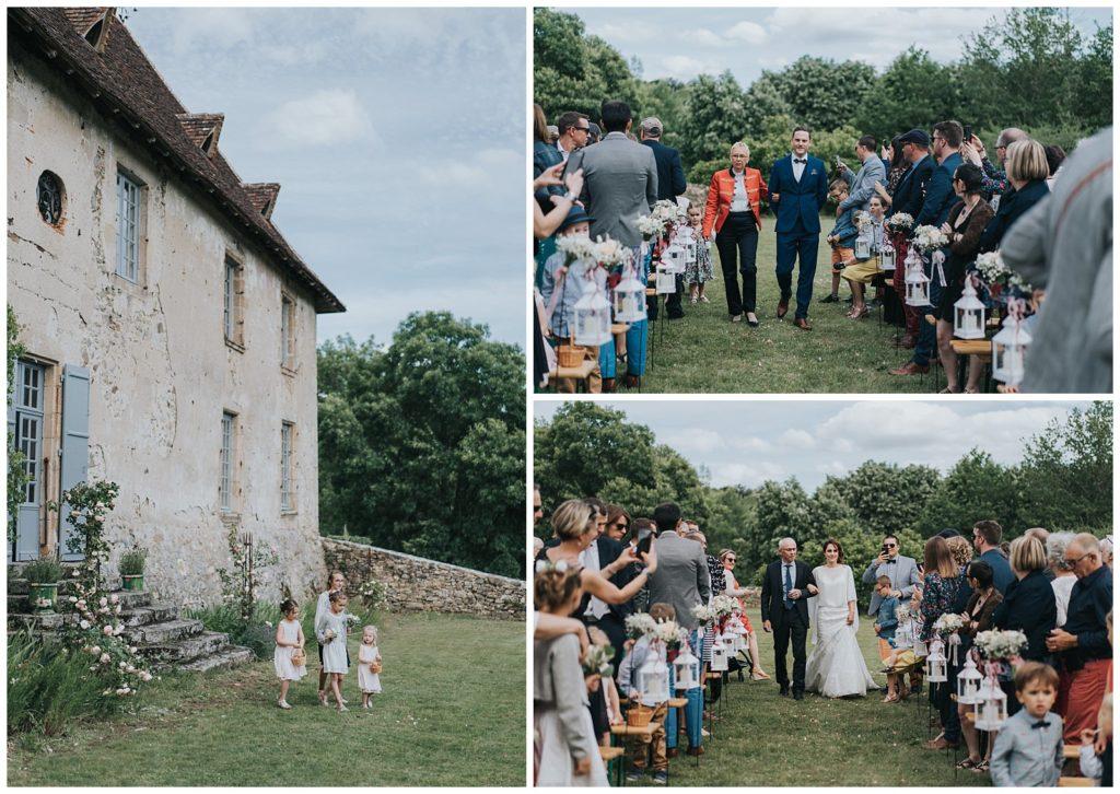 cérémonie laïque chateau de losmonerie
