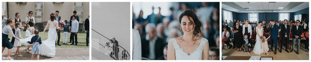 mairie de landouge pour un mariage par vivien malagnat photographe sur limoges