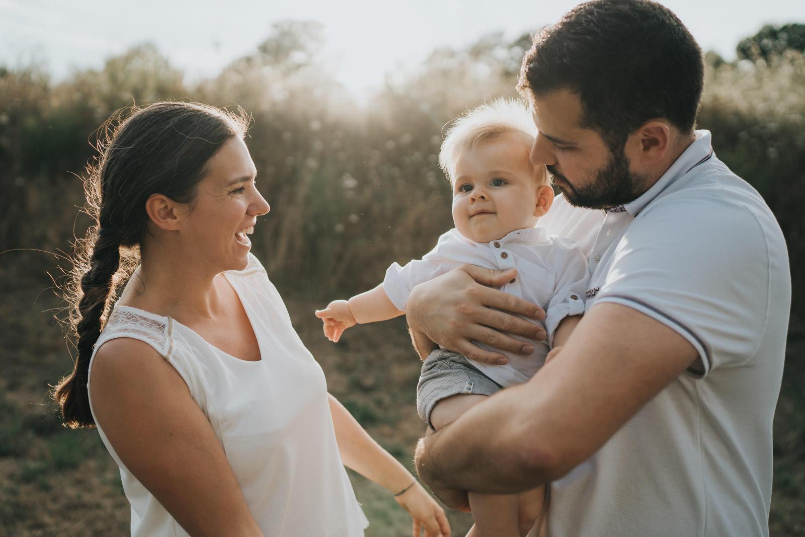 Photographie de famille par Vivien Malagnat