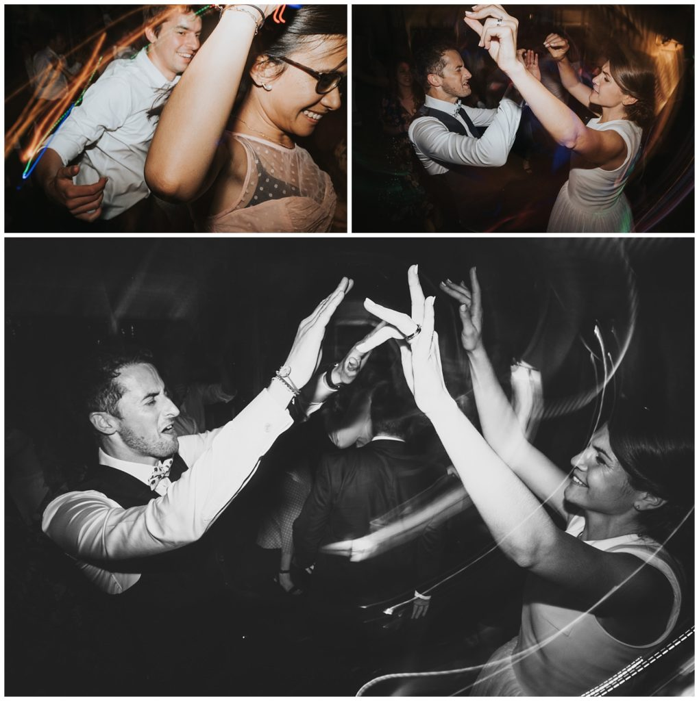 les mariées font la fête